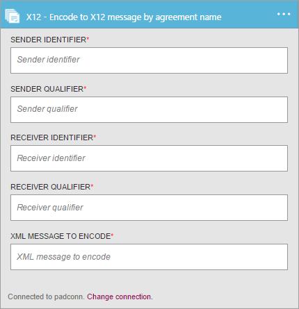 Encode X12 messages - Azure Logic Apps | Microsoft Docs
