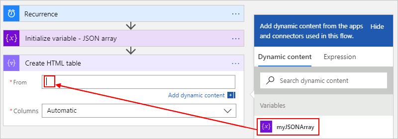 Perform operations on data - Azure Logic Apps | Microsoft Docs