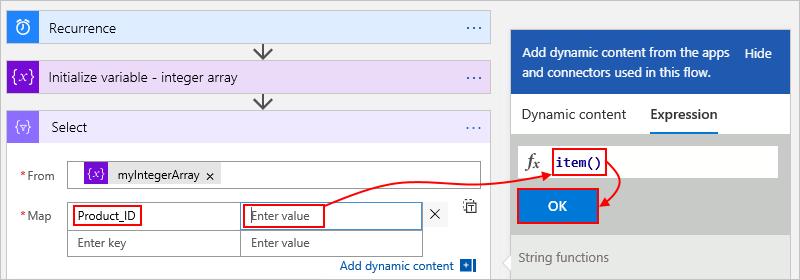 Perform operations on data - Azure Logic Apps   Microsoft Docs
