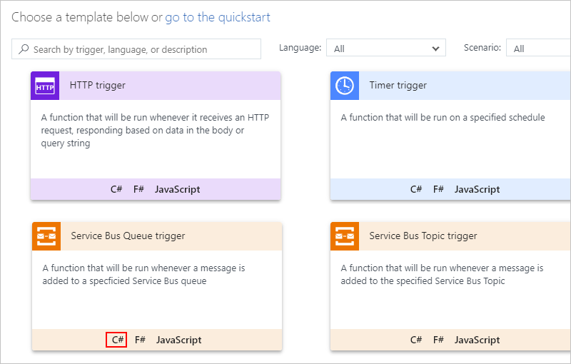 Scenario trigger logic apps with azure functions and azure service azure functions portal maxwellsz