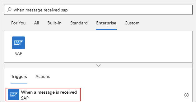 Connect to SAP systems - Azure Logic Apps | Microsoft Docs