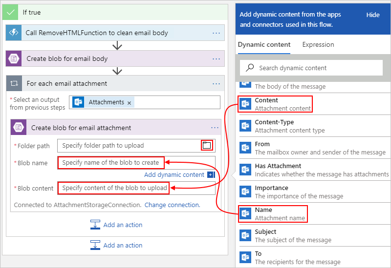 Tutorial - Automate processing emails and attachments