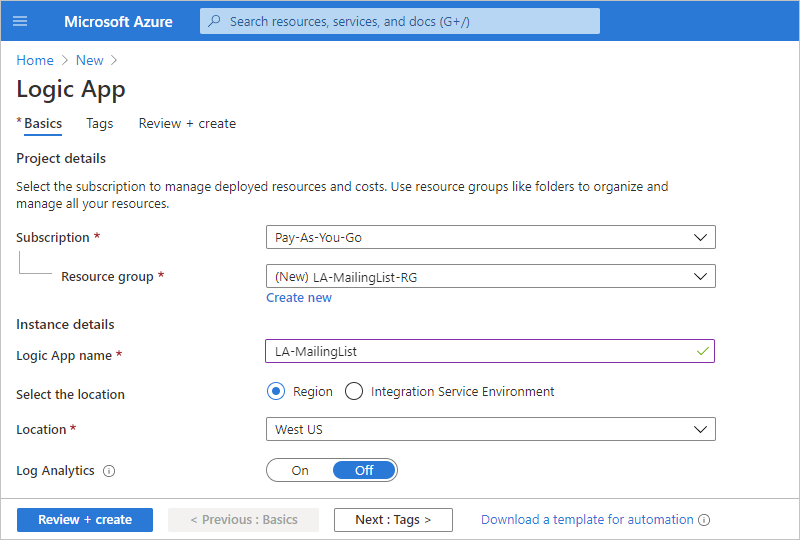 Build approval workflows to process mailing list requests - Azure