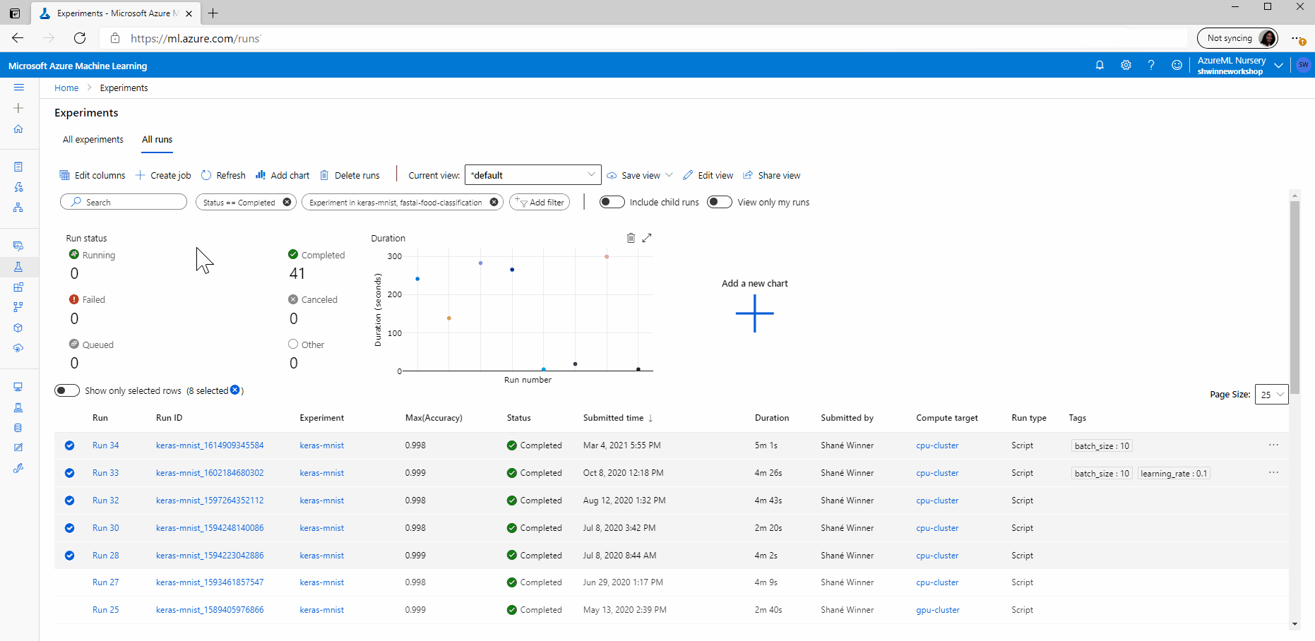 Guide to AzureML 6