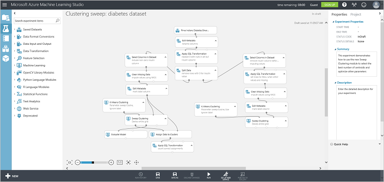 Copy others' data science examples - Azure Machine Learning Studio