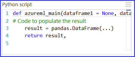 Execute Python machine learning scripts - Azure Machine