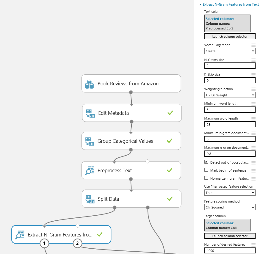 Create a sentiment analysis model - Azure Machine Learning