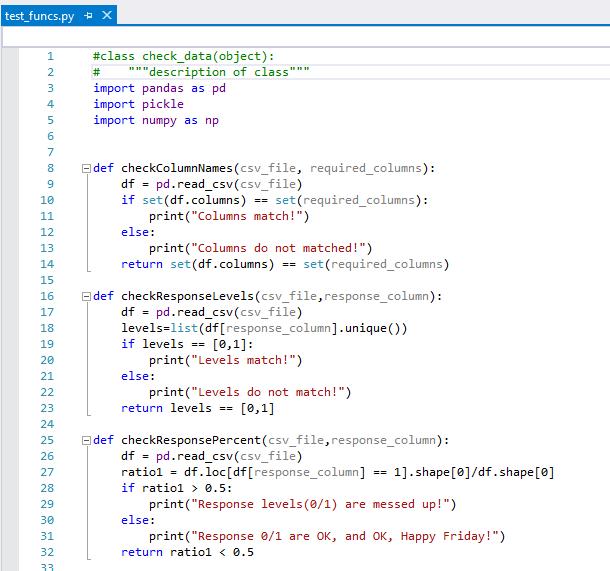 Test data science code with Azure DevOps Services - Team