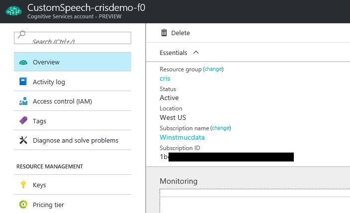 Microsoft   Custom Speech Service        Custom Speech Writing Service
