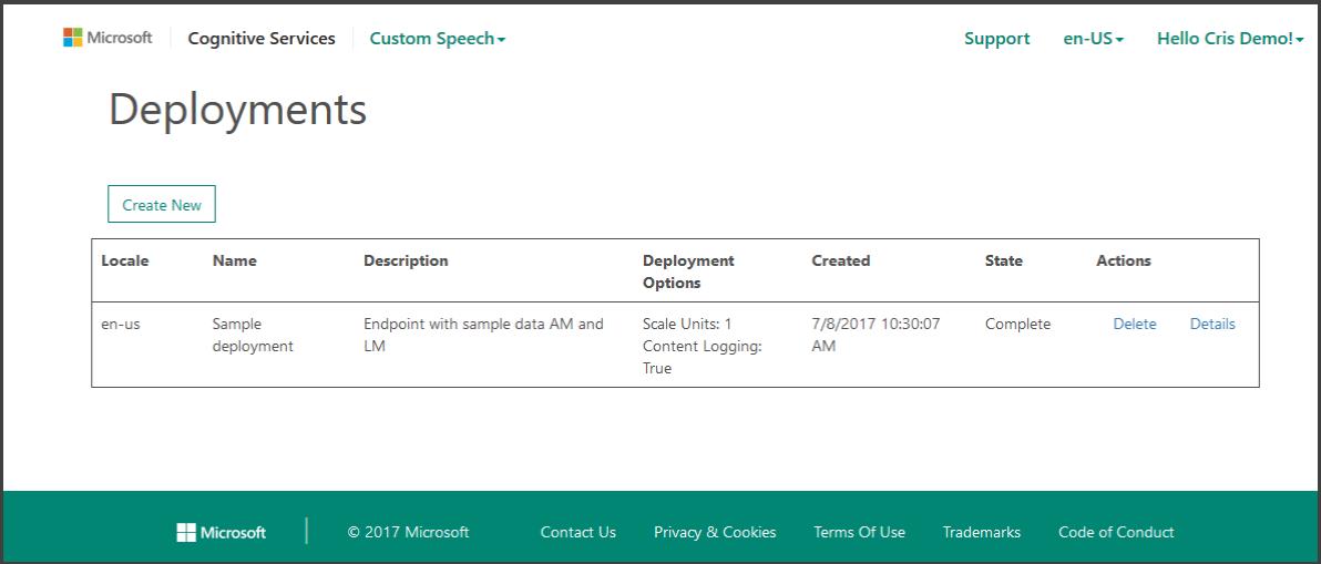 Deploy your custom models Microsoft Docs