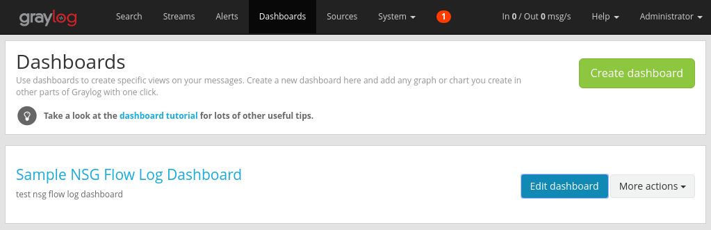 Analyze Azure network security group flow logs - Graylog   Microsoft