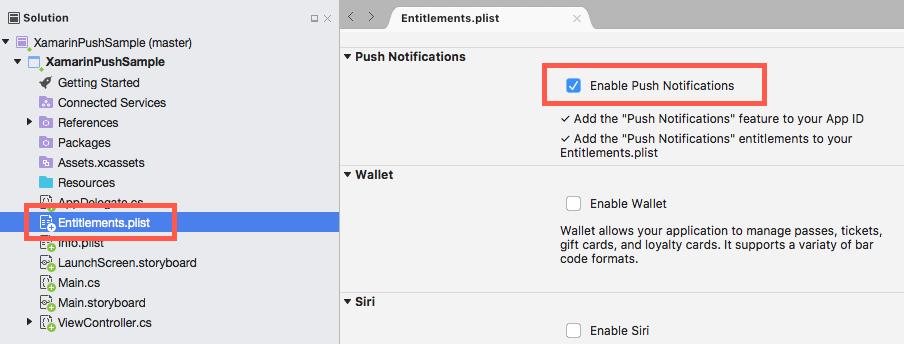 Push notifications to Xamarin iOS apps using Azure