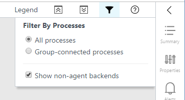 When All Processes Is Selected The Map Will Include All Processes And Connections On Each Of The Machines In The Group
