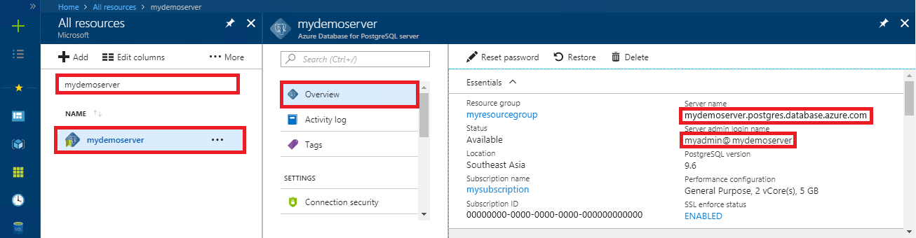 Quickstart: Use Java to connect to Azure Database for
