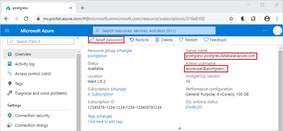 Use Python to connect to Azure Database for PostgreSQL