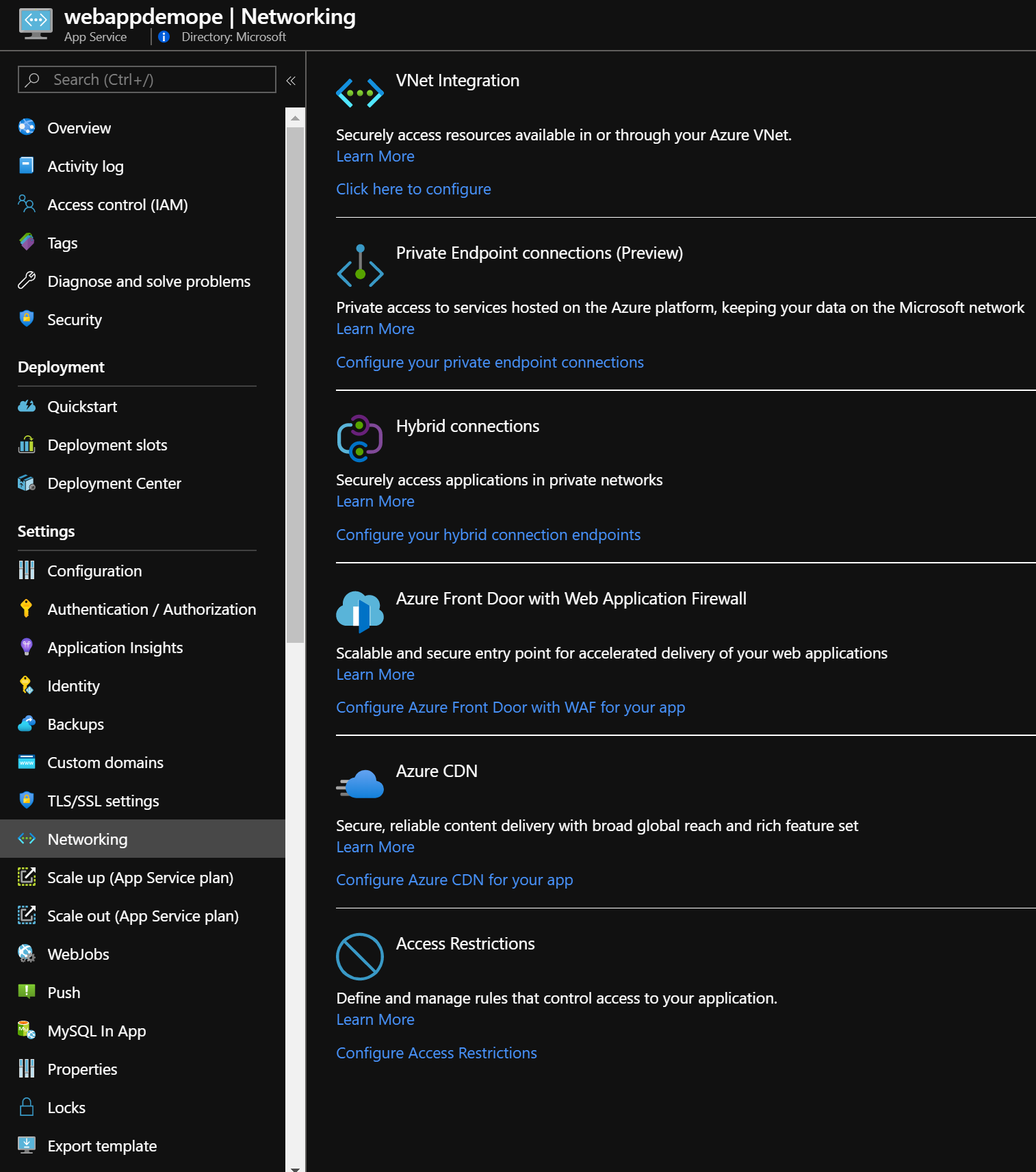 Connect Privately To A Web App Using Azure Private