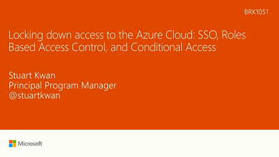 lock down access to azure (1:16)