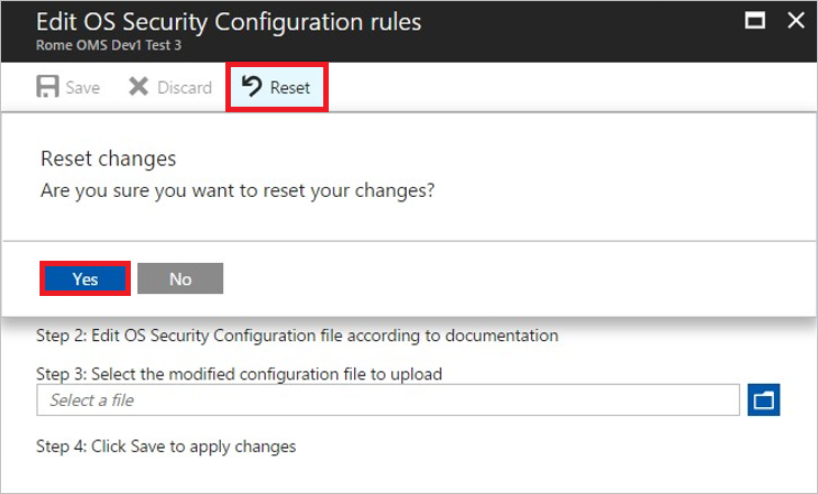 Customize OS security configurations in Azure Security