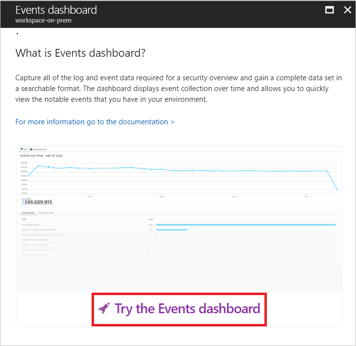 monitoring and processing security events in azure security center