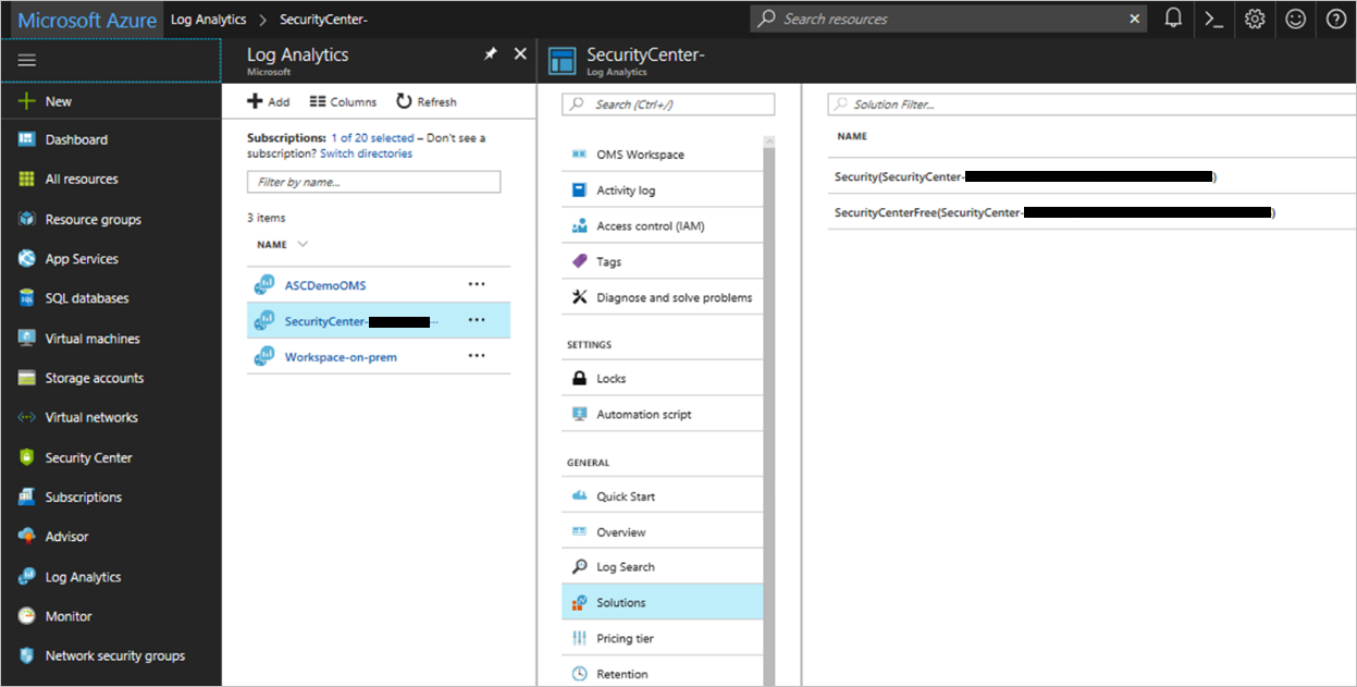Azure Security Center frequently asked questions (FAQ) | Microsoft Docs