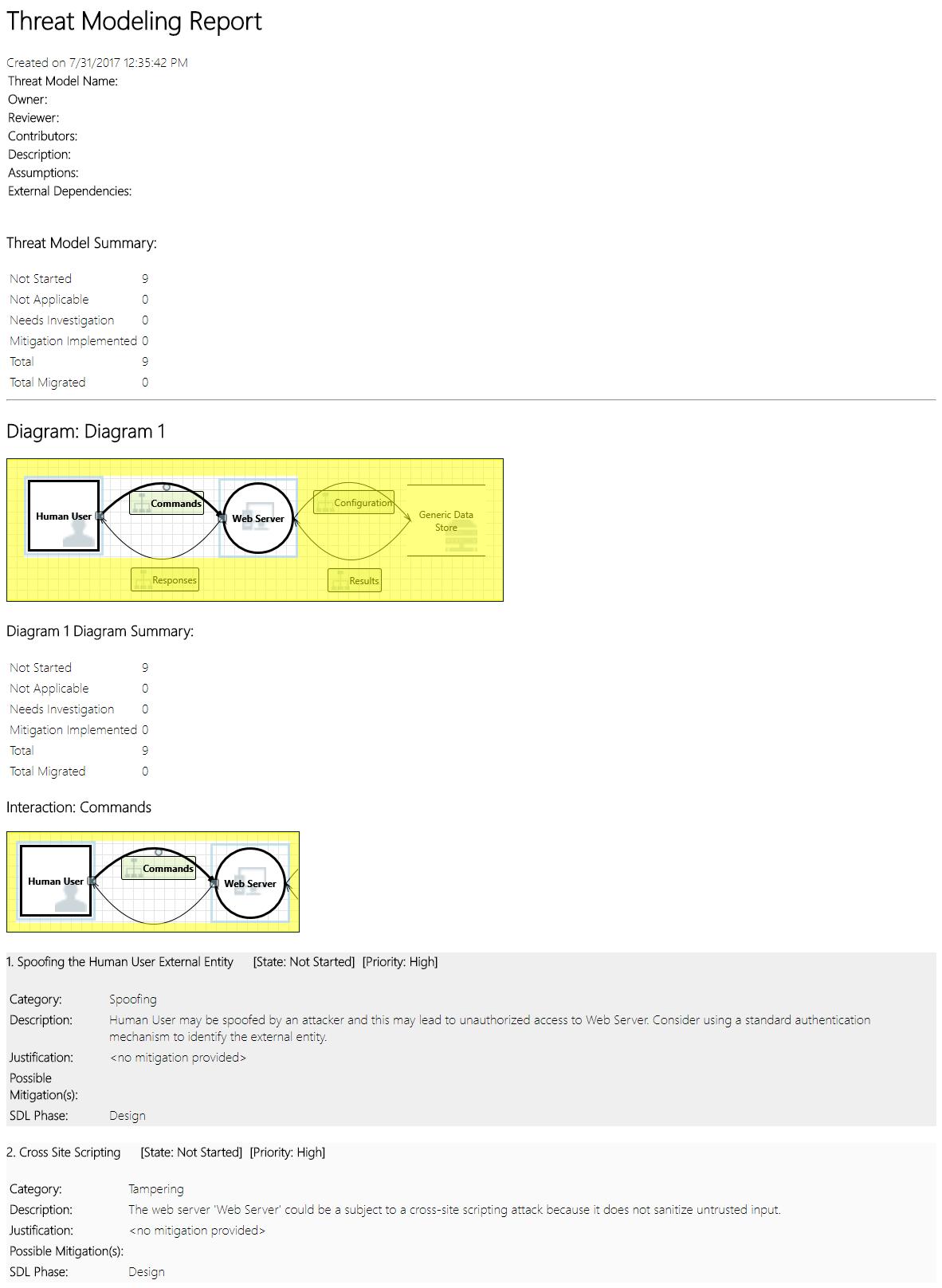 Getting Started Microsoft Threat Modeling Tool Azure Microsoft