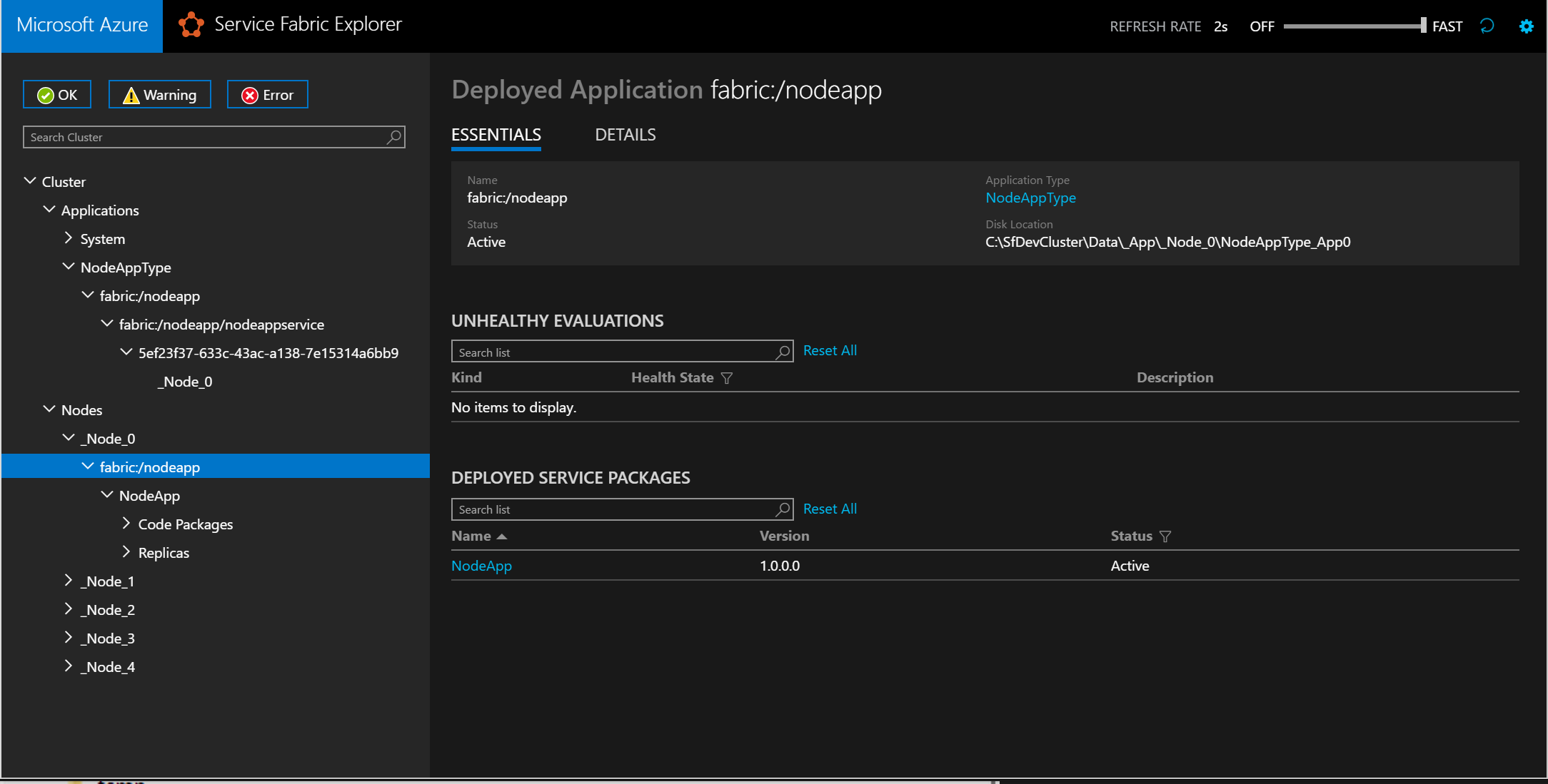 Deploy an existing executable to Azure Service Fabric | Microsoft Docs