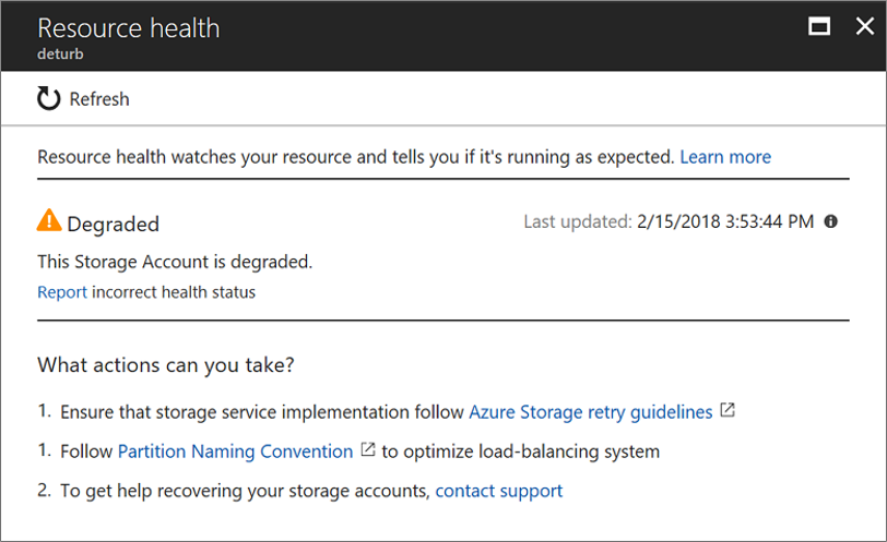 Azure Resource Health overview | Microsoft Docs