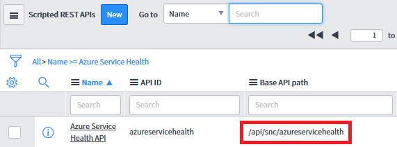 Send Azure service health alerts with ServiceNow using