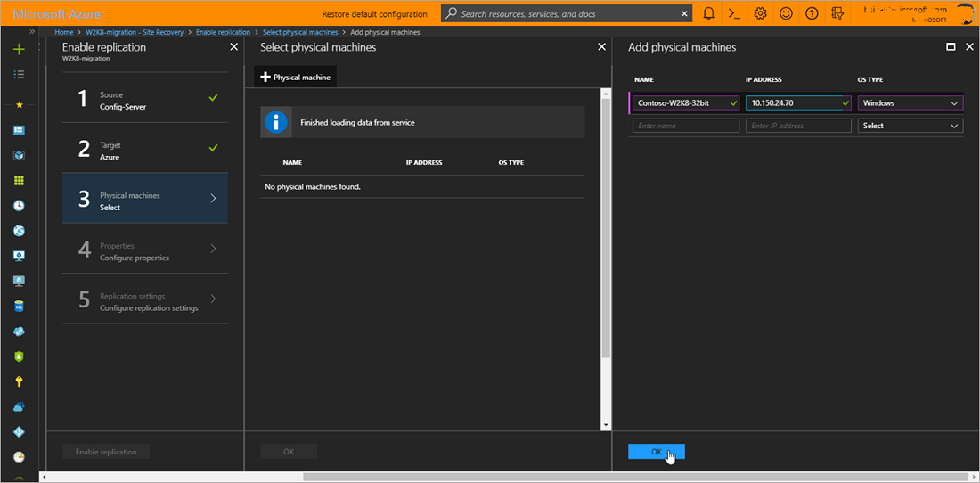 Migrate on-premises windows server 2008 servers to azure with.
