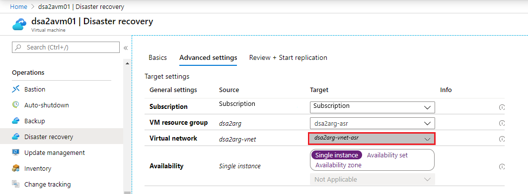Azure Site Recovery troubleshooting for Azure-to-Azure