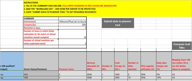 machine capacity planning