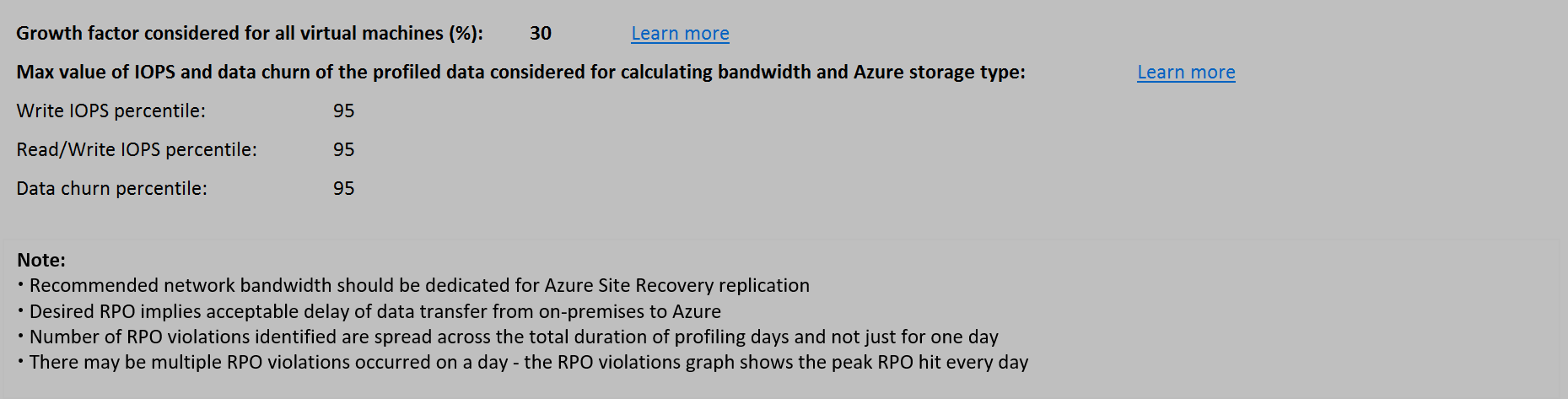 Workbooks recovery dynamics worksheets : Azure Site Recovery deployment planner for Hyper-V-to-Azure ...