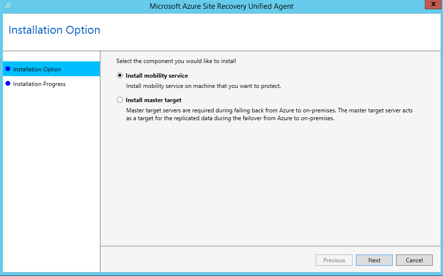 About the Mobility Service for disaster recovery of VMware