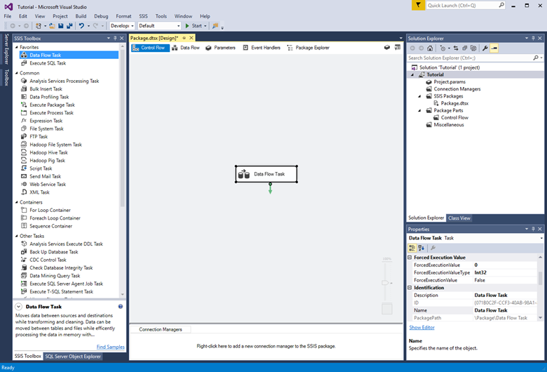 Load data from SQL Server into Azure SQL Data Warehouse (SSIS ...