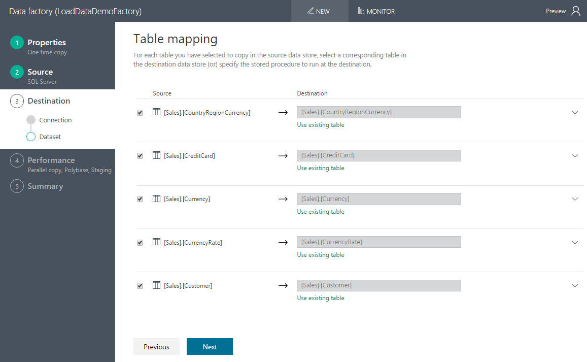 Now you may enter data into your text table - Map Tables