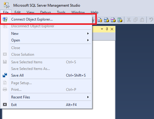 Connect to azure sql data warehouse ssms microsoft docs - How to find a table in sql server management studio ...