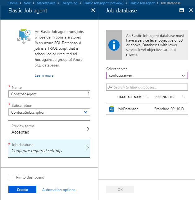 Azure SQL Elastic Database Jobs (preview) | Microsoft Docs