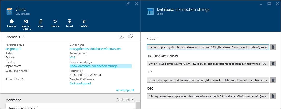 Always Encrypted Azure Sql Database Windows Certificate Store