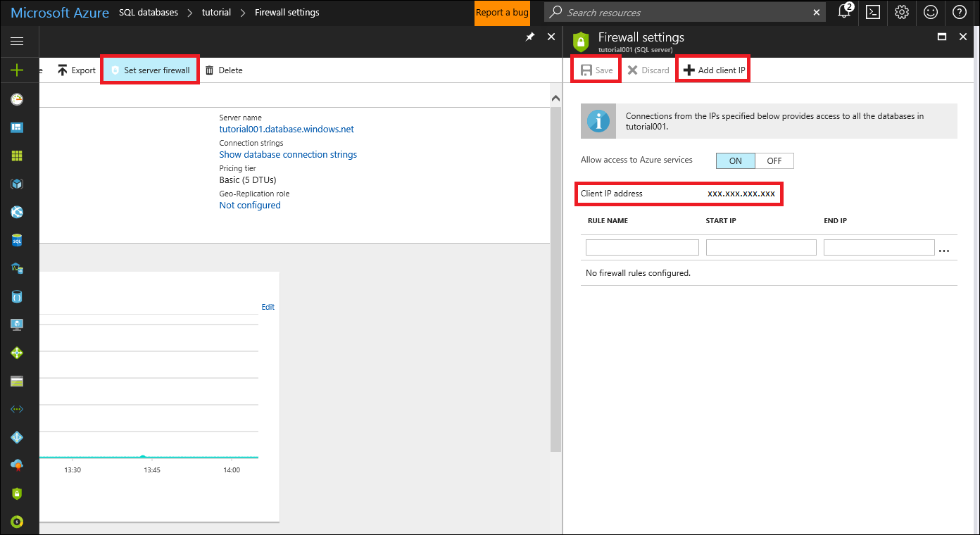Secure your azure sql database microsoft docs set server firewall rule 1betcityfo Image collections