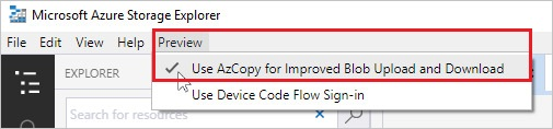 Copy or move data to Azure Storage by using AzCopy v10