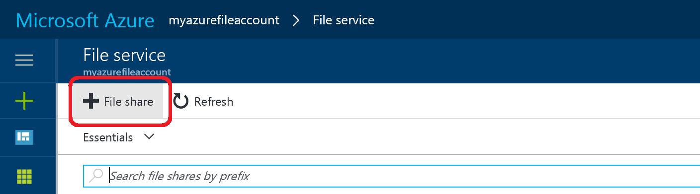 How to create an Azure file share   Microsoft Docs