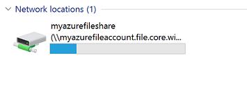 Use an Azure file share with Windows | Microsoft Docs