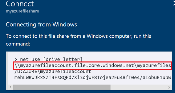 connect to network drive powershell