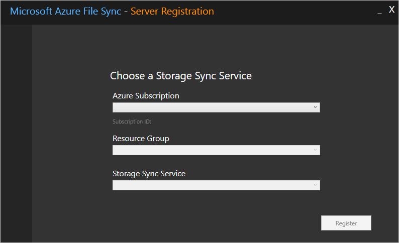 Storage Sync Service information