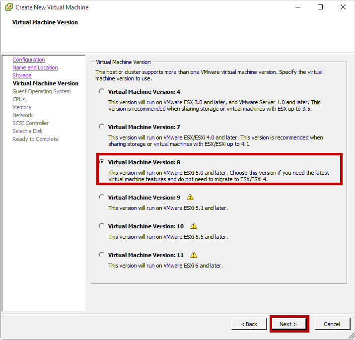 Provision StorSimple Virtual Array in VMware | Microsoft Docs