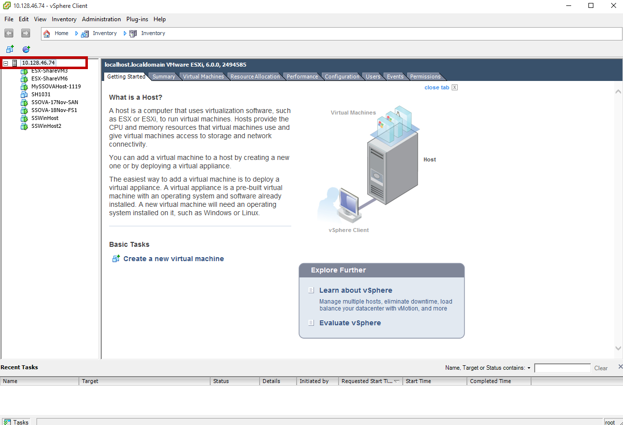 Provision StorSimple Virtual Array in VMware | Microsoft Docs