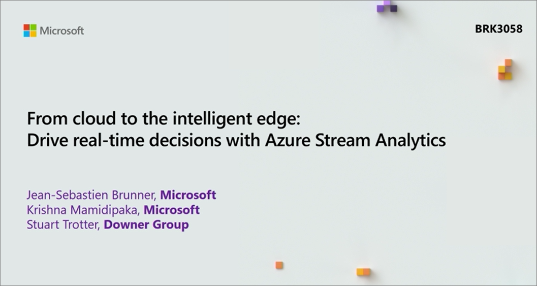 Azure Stream Analytics Documentation - Tutorials, API