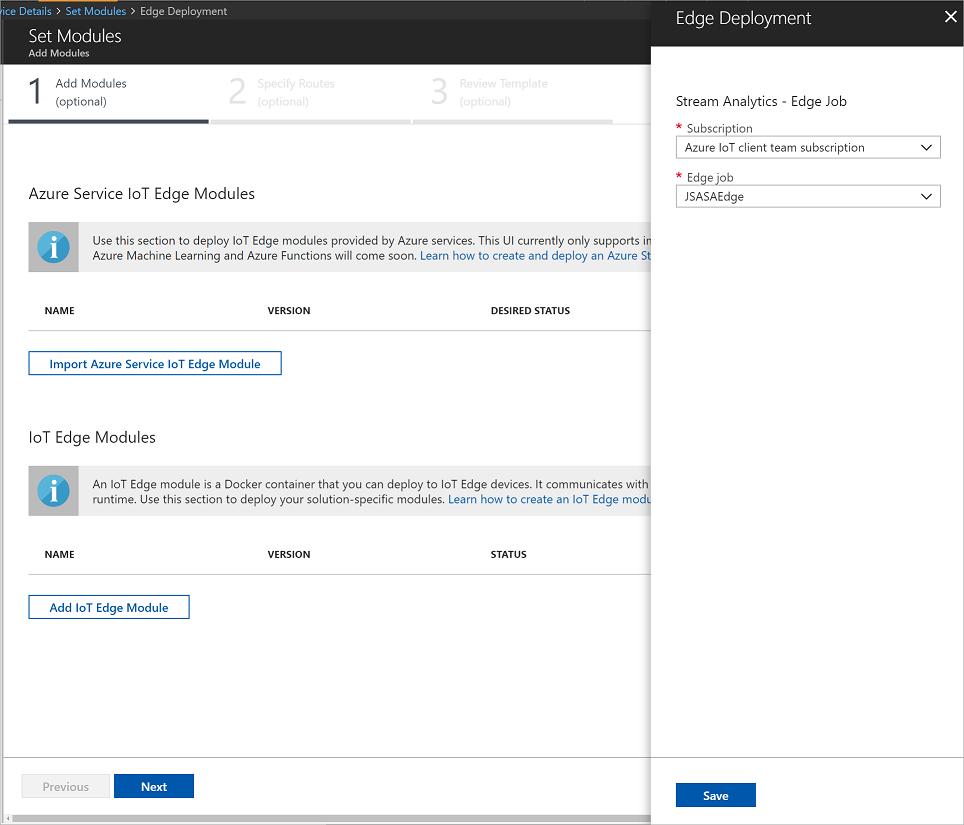 Azure Stream Analytics on IoT Edge | Microsoft Docs