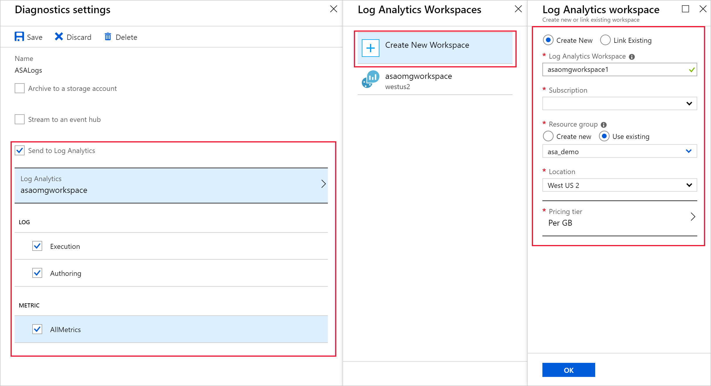 Troubleshoot Azure Stream Analytics using diagnostics logs