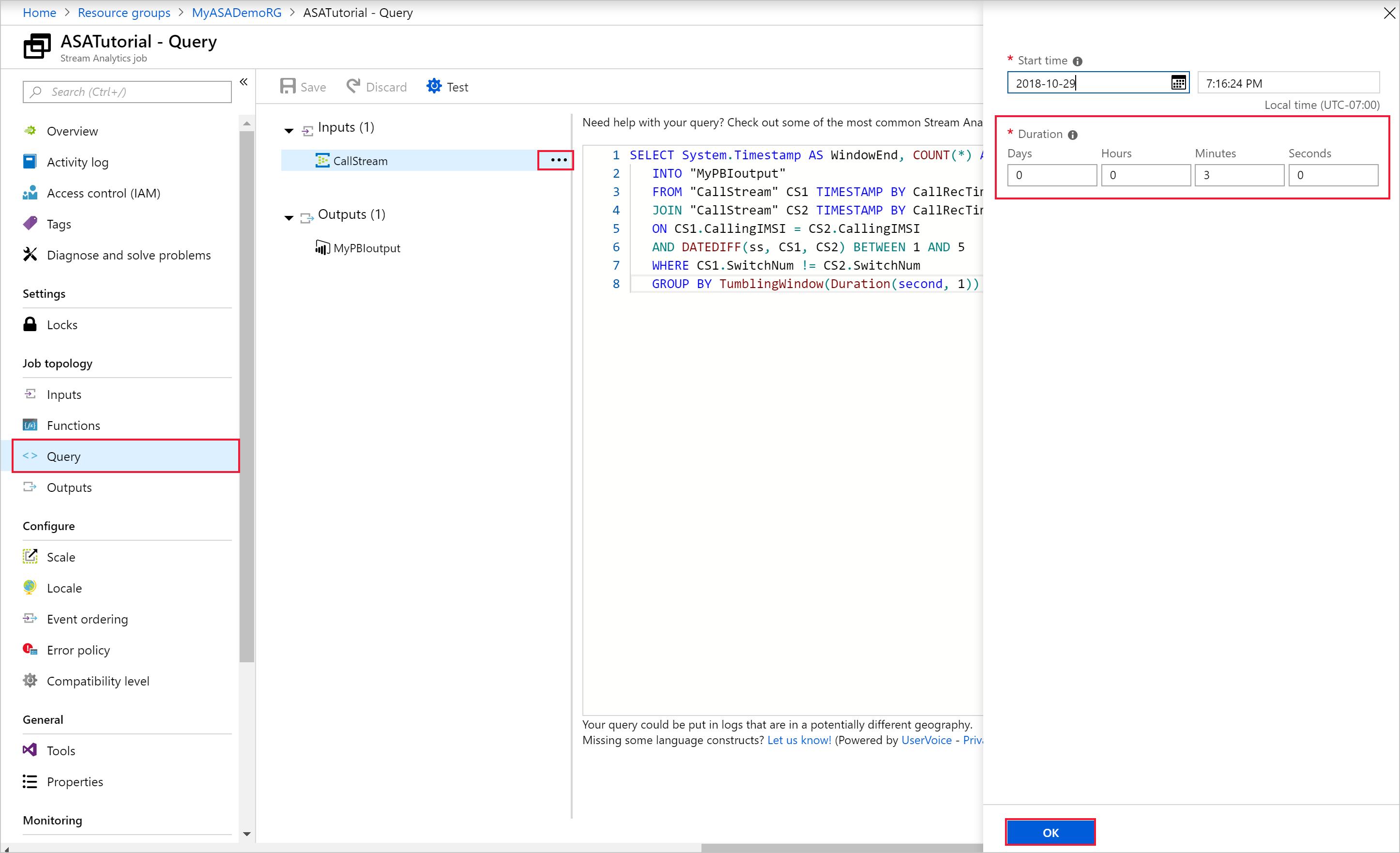 Tutorial: Create and manage a Stream Analytics job using